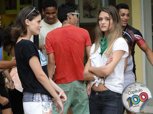 Fatinha fica inconsolável ao pensar em perder Bruno (Foto: Malhação / TV Globo)