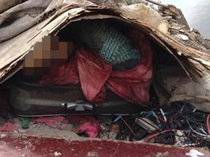 Corpo da mãe foi encontrado em mala  (Foto: Divulgação/ Polícia Civil)