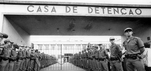 Casa de Detenção, Carandiru (Foto: Arquivo/Diário de S. Paulo)