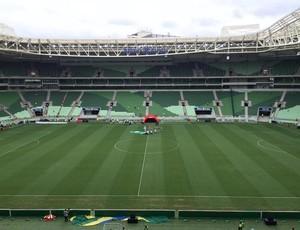Arena do Verdão vai receber o clássico entre Palmeiras e São Paulo (Foto: Felipe Zito)