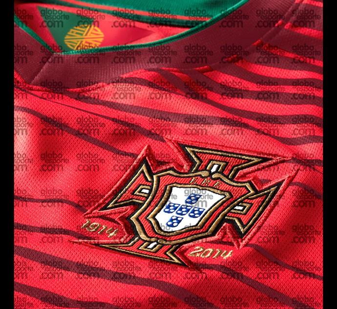 Camisa Portugal detalhe