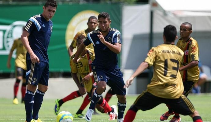 Palmeiras Taboão da Serra jogo-treino (Foto: Cesar Greco/Ag Palmeiras/Divulgação )