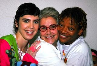 Adriana Calcanhoto, Suzana de Moraes e Mart'nália (Foto: Cristina Granato / Archives O Globo.)