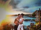 Ex-BBBs Andressa e Nasser curtem viagem romântica no México