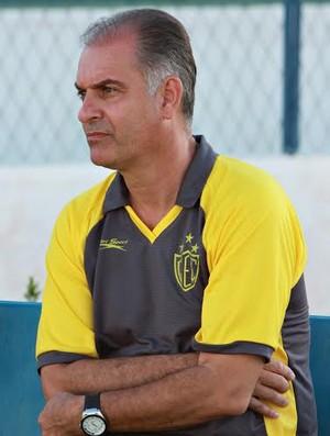 Carlos Octávio, Técnico, Guarani de Juazeiro (Foto: Cícero Valério/Agência Miséria)
