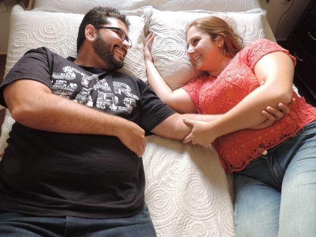 Sexo não era o objetivo do casamento (Foto: Géssica Santos / arquivo pessoal)