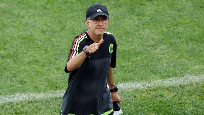 Juan Carlos Osorio México técnico Copa das Confederações (Foto: Carl Recine/Reuters)