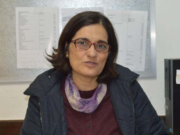 Chefe do DIAF da UFMS, professora Alexandra Ayach Anache (Foto: Anderson Viegas/G1 MS)