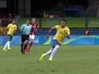 Brasil goleia Dinamarca por 4 a 0  com boa atuação de Neymar
