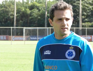Meia Montillo, do Cruzeiro (Foto: Valeska Silva / Globoesporte.com)