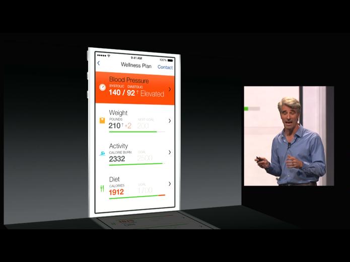 HealthKit é o aplicativo nativo do iOS 8 voltado para saúde do usuário (Foto: Divulgação/Apple)