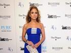 Jennifer Lopez usa vestidinho colado e saltão em Las Vegas