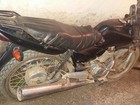 Motociclista é preso por receptação (Divulgação/ PM Ribeirão Branco)