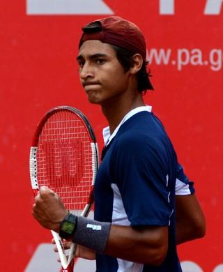 Igor Marcondes tenista São José Caraguatatuba (Foto: Renato Chalu/ Divulgação)