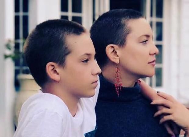 Ryder Robinson e a mãe, Kate Hudson (Foto: Reprodução/Instagram)