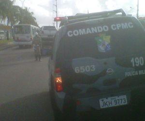 Vítima de sequestro é encontrada no porta-malas de veículo em Aracaju (Foto: Alex Carvalho/Arquivo Pessoal)