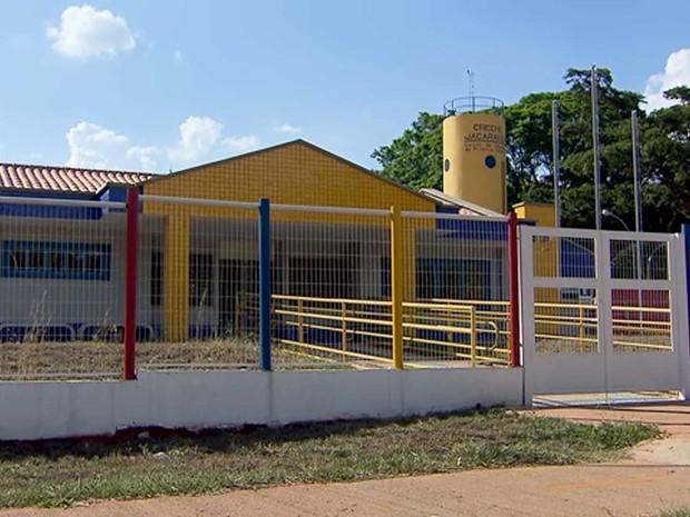 Creche recém-inaugurada na 204 Sul, em Brasília (Foto: TV Globo/Reprodução)