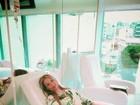 Jéssica Lopes faz tratamento com soro para a imunidade depois de câncer