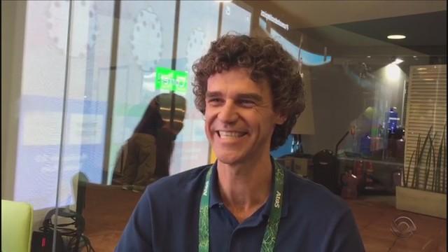 Guga Kuerten falou sobre o carinho do público  (Foto: RBS TV/Reprodução)