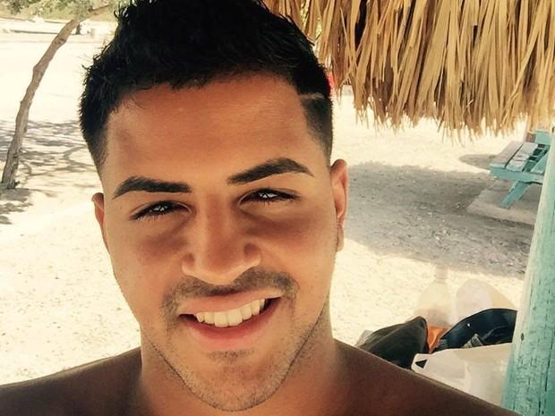 Foto sem data mostra Oscar A. Aracena-Montero, vítima de massacre na boate gay Pulse em Orlando, nos EUA (Foto: Facebook/Handout via REUTERS )