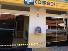 Bandidos roubam agência dos Correios  (Euzana de Fátima/Arquivo Pessoal)