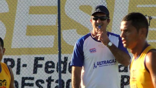Paulo Moroni, técnico do Parnahyba (Foto: Elmadã Gonçalves / Torcida Azulina)