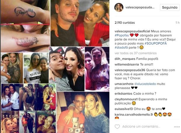 Valesca Popozuda (Foto: Reprodução/Instagram)
