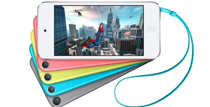 Apple classifica o iPod touch como videogame portátil por sua alta capacidade gráfica (Foto: Divulgação/Apple)