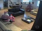 Câmeras de aeroporto em SP gravam 'papai noel' que roubou helicóptero