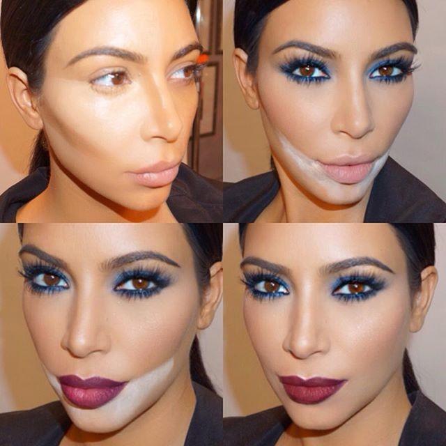 Cinco lies de maquiagem do maquiador da Kim Kardashian (Foto: Reproduo/Instagram)
