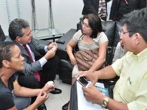 Representantes das pessoas com deficiência acompanharam a votação  (Foto: Divulgação/Charles Wellington/ALE-RR)