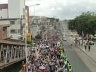 Peregrinação ao Santuário N. Sra das Candeias reúne milhares de fiéis