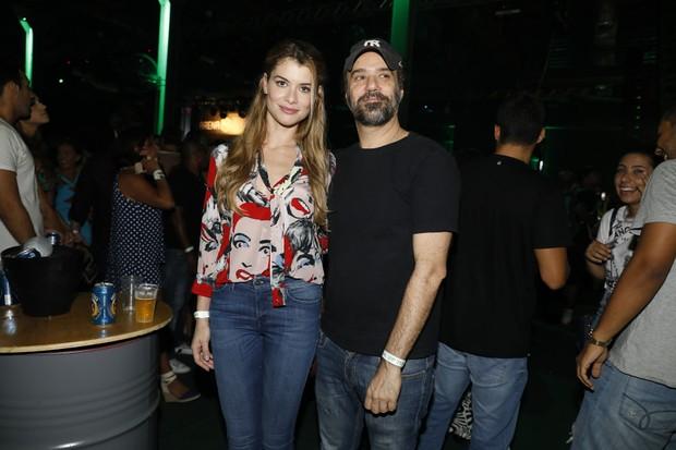 Aline Moraes e Mauro Lima (Foto: Felipe Panfili/Divulgação)