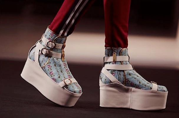 Bota da Gucci coleção Primavera/Verão 2017 (Foto: Reprodução/Instagram)