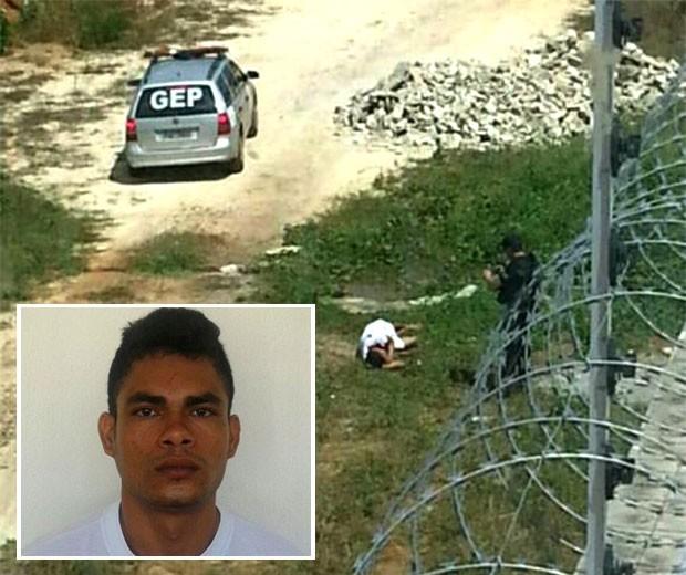 Mairton Vitorino dos Santos, mais conhecido como Papudinho, foi baleado na tentativa de fuga da Cadeia Pública de Mossoró (Foto: Divulgação/Sesed)