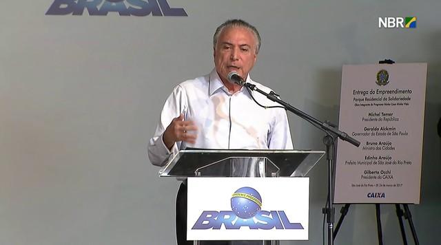 Carne brasileira é vendida para 150 países, diz Temer