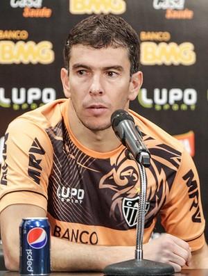 Leandro Donizete, Atlético-MG, Cidade do Galo, treino (Foto: Bruno Cantini / Site Oficial do Atlético-MG)