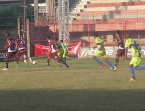 Campeonato Capixaba 2012 Série B: Desportiva Ferroviária x ES de Marilândia (Foto: Divulgação/Desportiva Ferroviária)