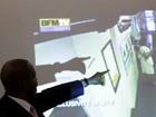 TV mostra imagens do dia em que chefe do FMI foi acusado de estupro