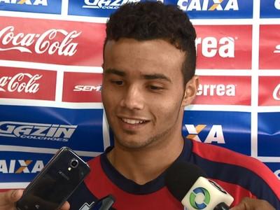 Thiaguinho Paraná Clube (Foto: Reprodução/RPC TV)