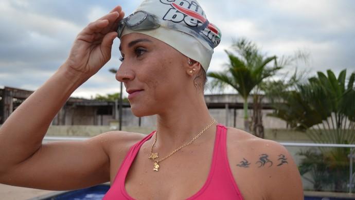 Mari Costa representará Rondônia no Brasileiro de Triathlon  (Foto: Lívia Costa)