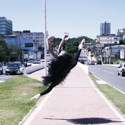 A leveza do balé clássico. (Foto: Gabriel D'Alexandria)