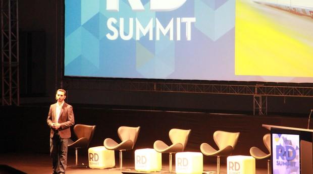 Eric Santos, CEO e cofundador da Resultados Digitais, durante a terceira edição do RD Summit bjs (Foto: Divulgação)