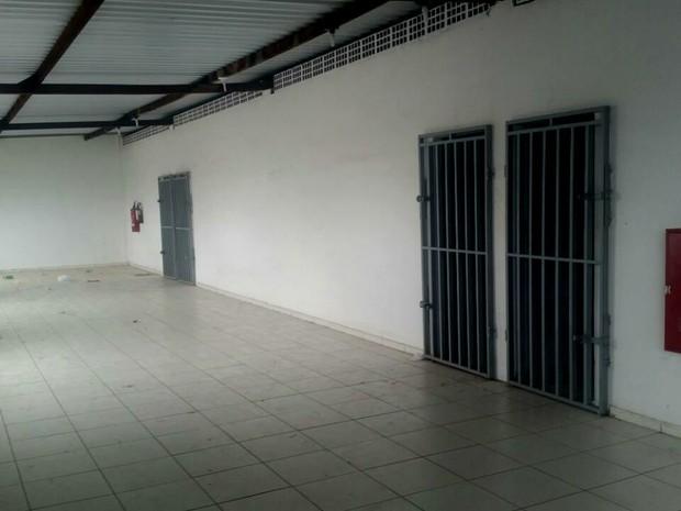 Unidade abrigava 160 presos dos regimes aberto e semiaberto (Foto: Divulgação/Sejuc)