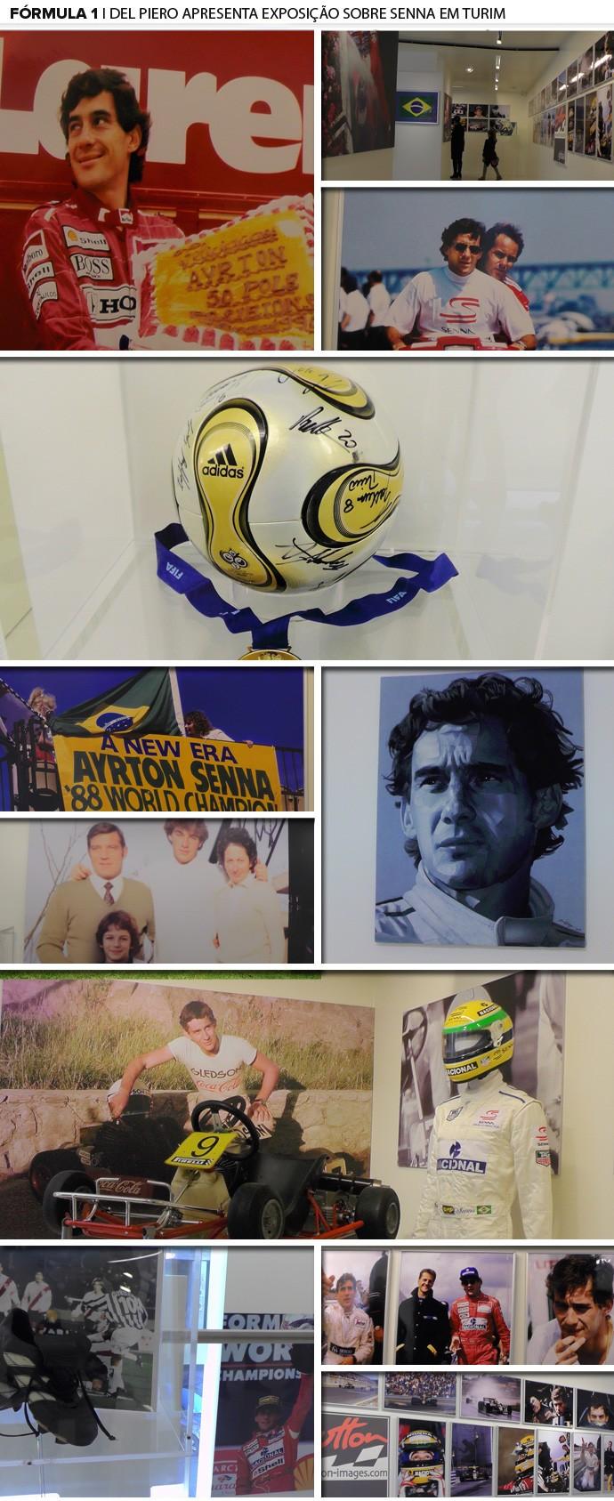 mosaico ayrton senna del piero (Foto: Editoria de Arte/Fotos Claudia Garcia)