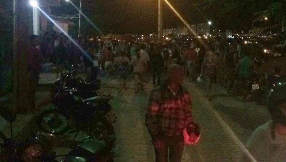 Crimes aconteceram na rua Goiás (Foto: Magno Wendel/TV Asa Branca)