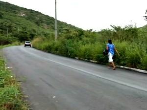 Detran-CE afirma que afirma que a sinalização foi feita em 2011 (Foto: TV Verdes Mares/Reprodução)