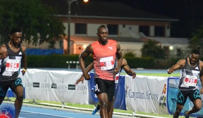 Usain Bolt 100m Cayman International (Foto: Divulgação/Cayman International)