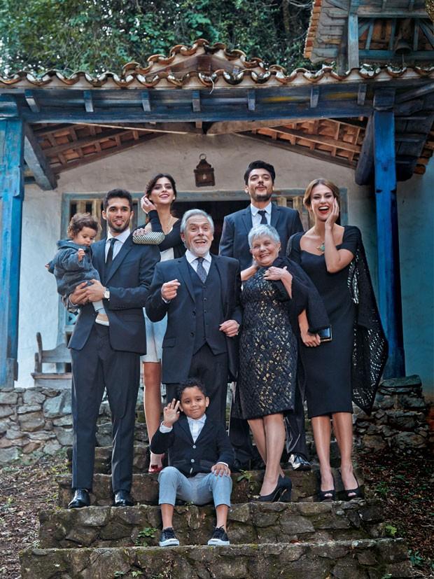 Em Família (Foto: Greg Swales)