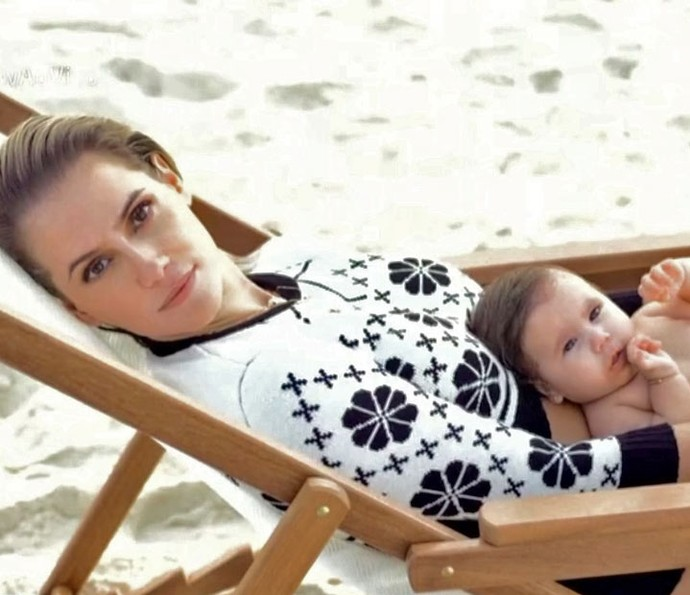 Deborah fez ensaio inspirado na atriz Grace Kelly (Foto: TV Globo)